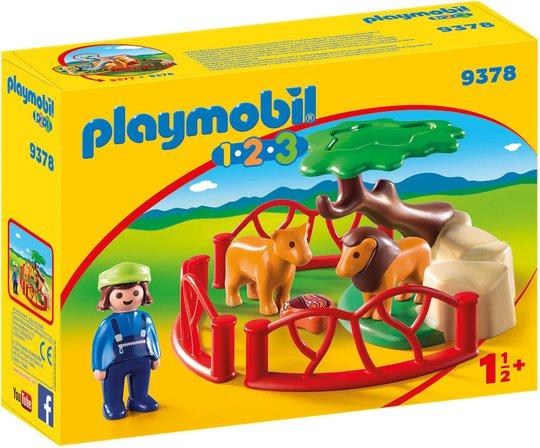 Playmobil 9378 Innhegning Med Løve