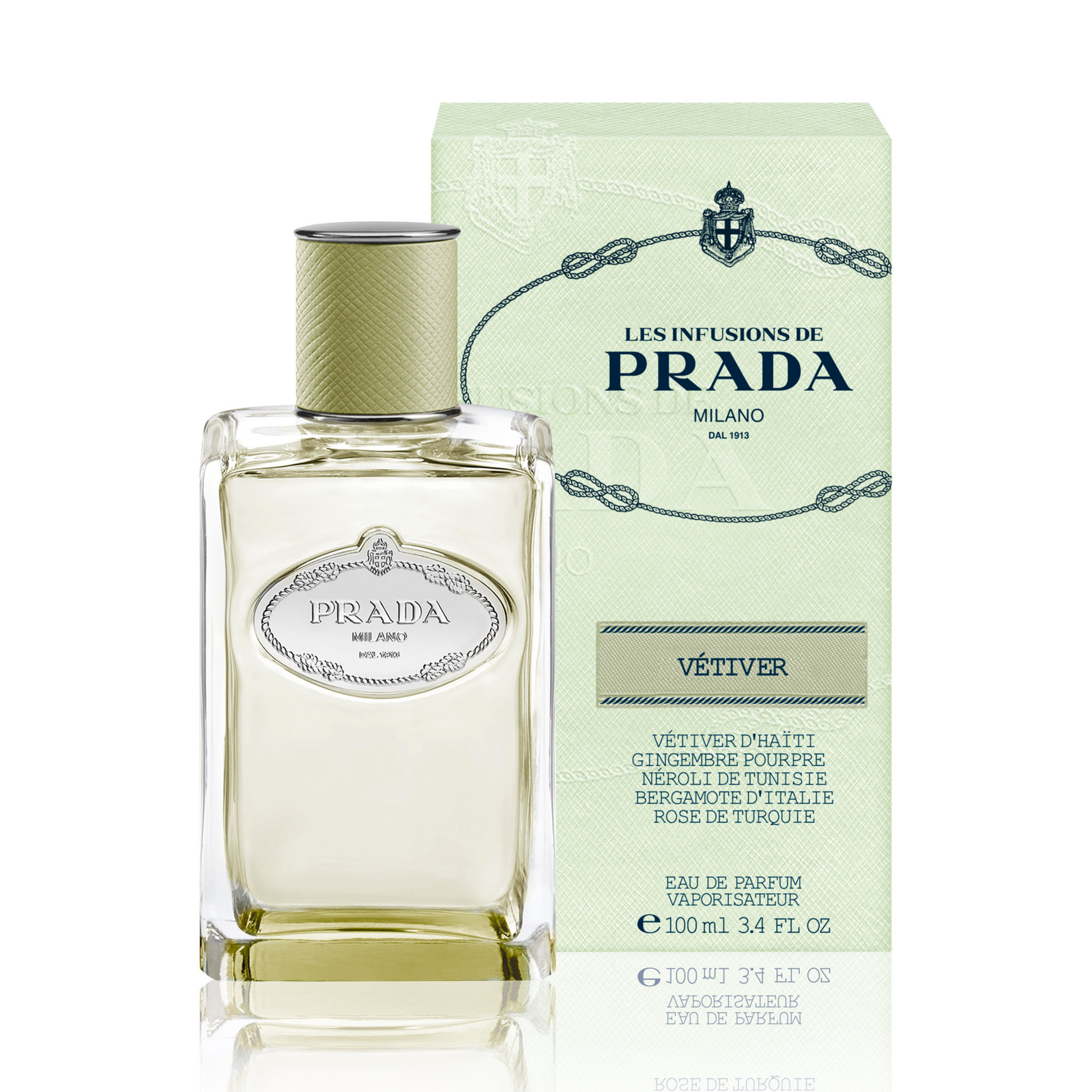 Les Infusions Vetiver EdP