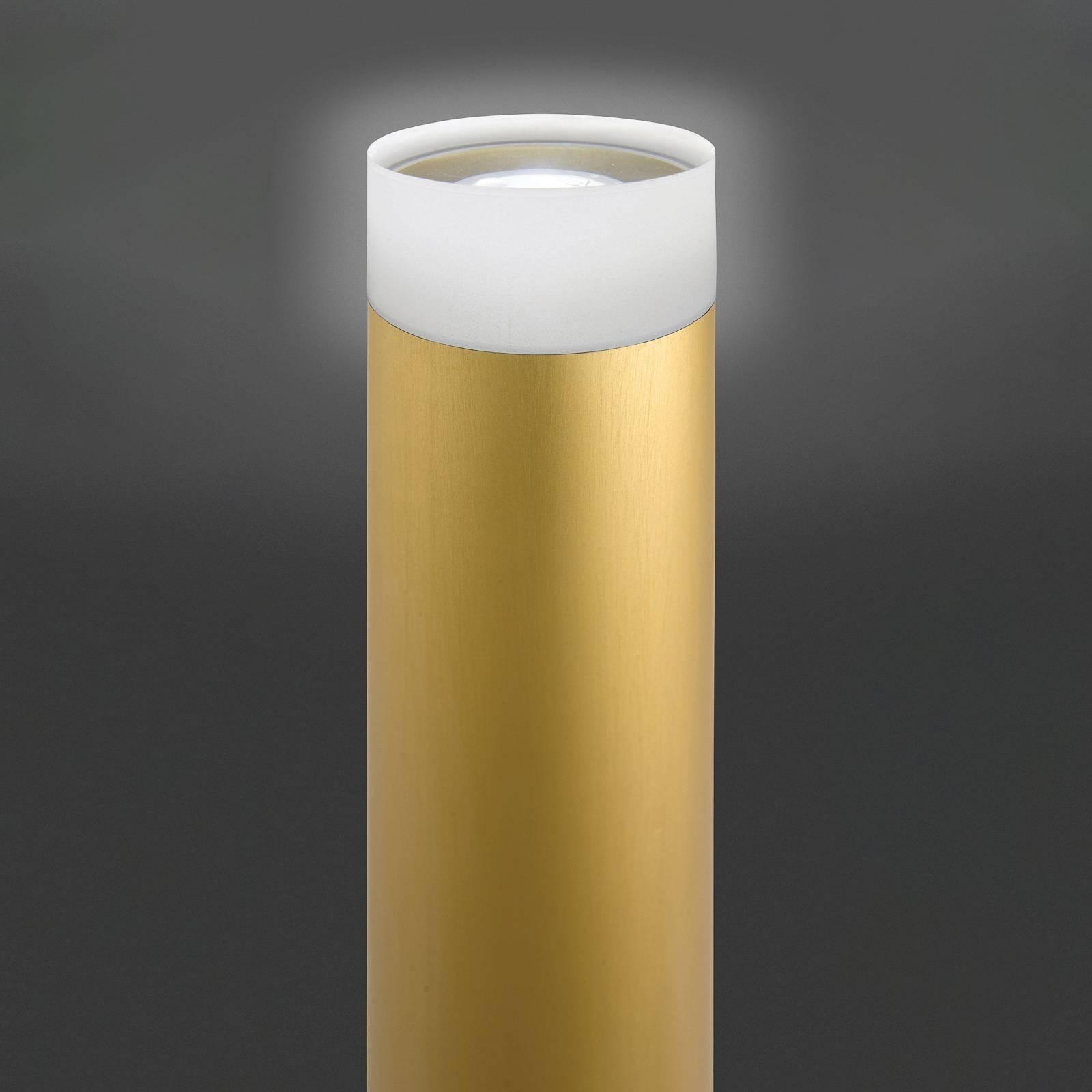 Lattiavalo LED Pole, anodisoitu kulta