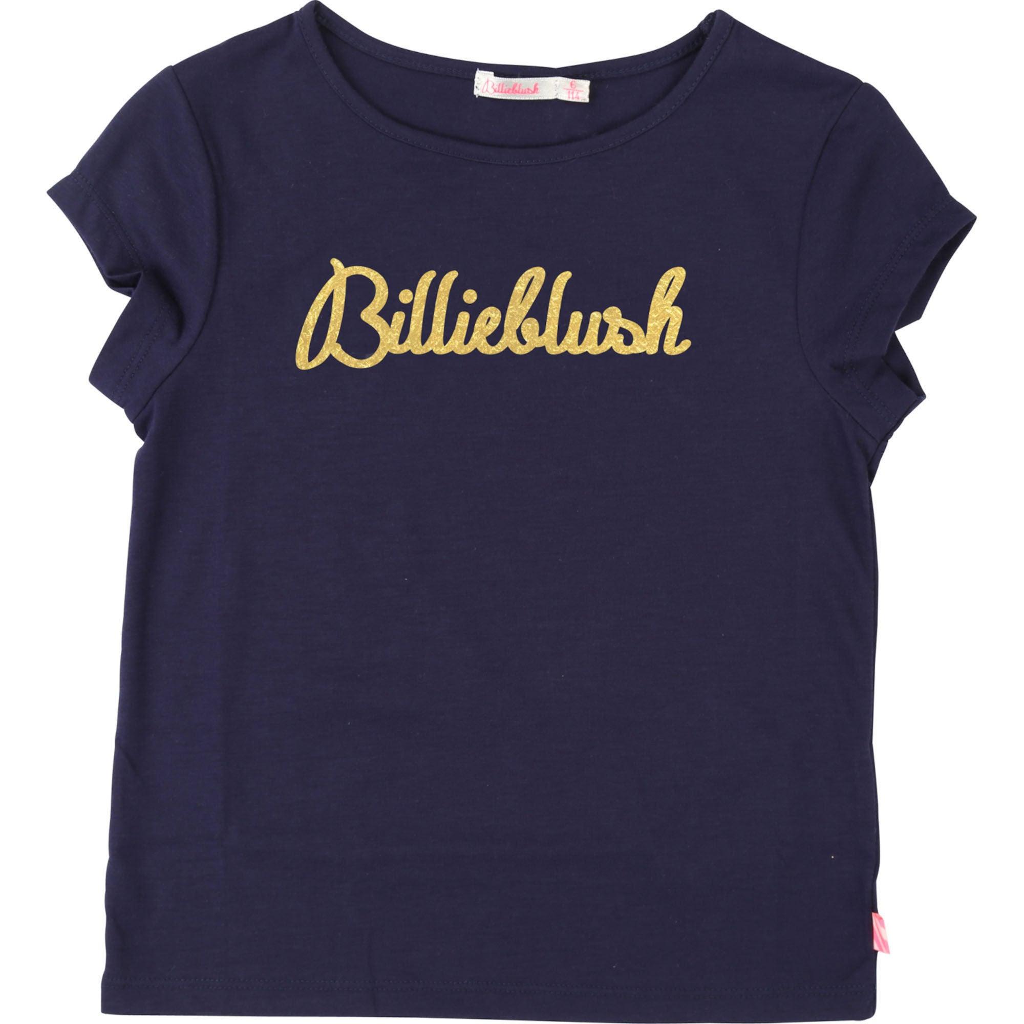 Billieblush T-Shirt, Navy 4år