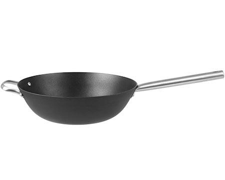Garonne wok Lettvektig støpejern 3 liter