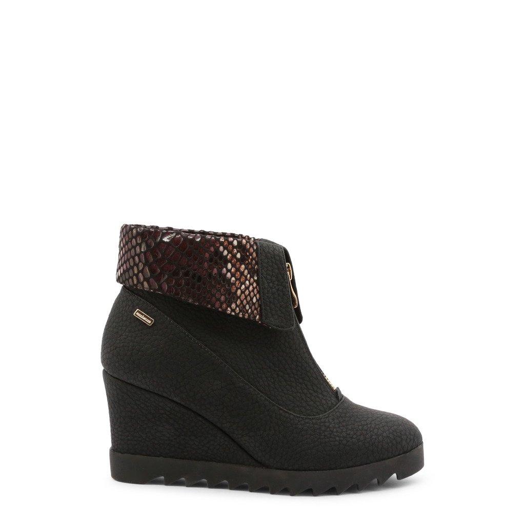Roccobarocco Women's Ankle Boots Black 343086 - black EU 37
