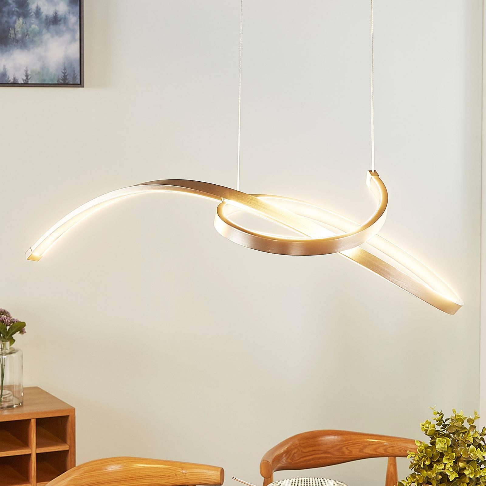 Filigraaninen LED-riippuvalo Dominykas