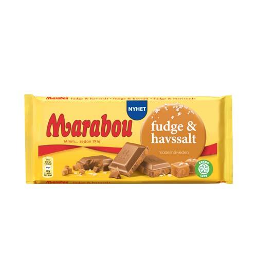 Marabou - FUDGE HAVSSALT 185 GR