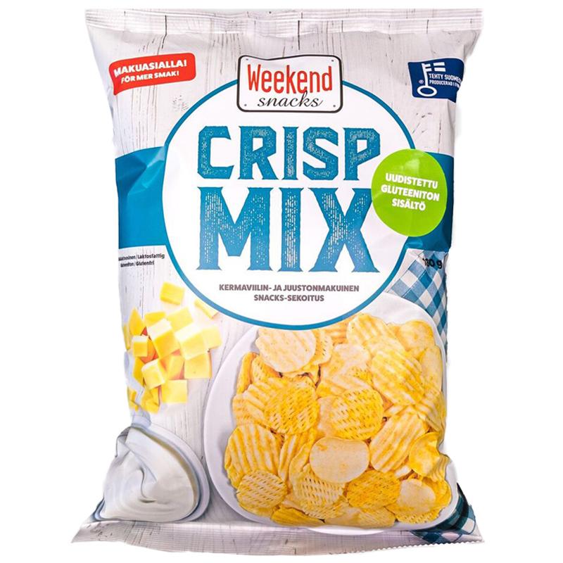 Snacks-sekoitus Crisp Mix - 22% alennus