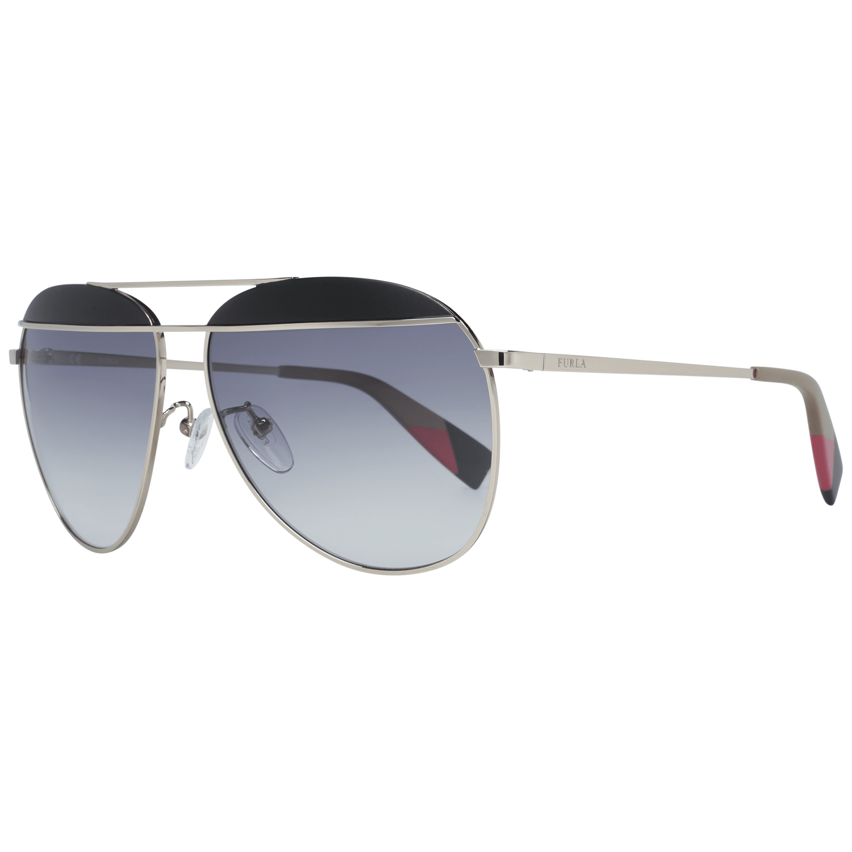 Furla Women's Sunglasses Silver SFU236 590492