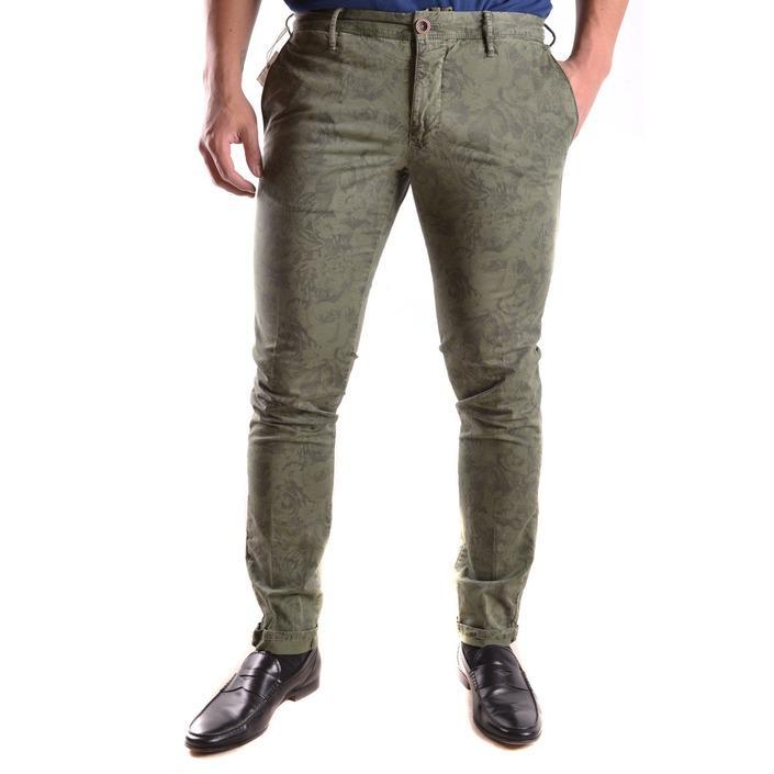 Incotex Men's Trouser Green 162187 - green 35