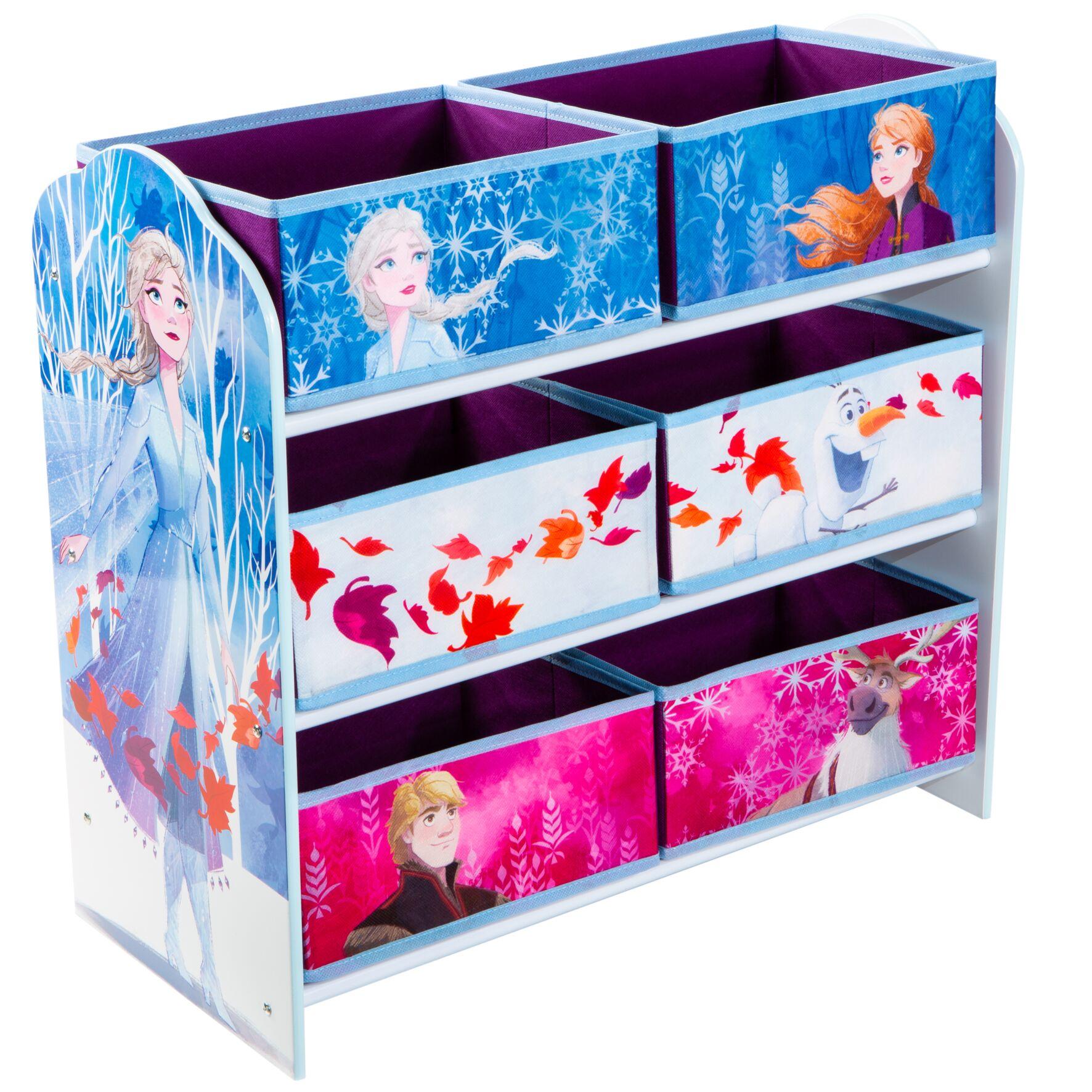 Disney Frozen - Kids Toy Storage Unit (471FZO01E)