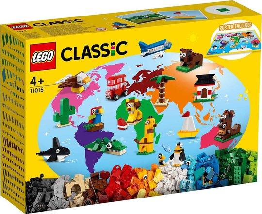 LEGO Classic 11015 Jorden Rundt