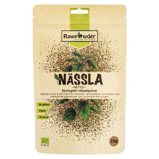 Rawpowder Ekologiskt Nässelpulver, 250 g