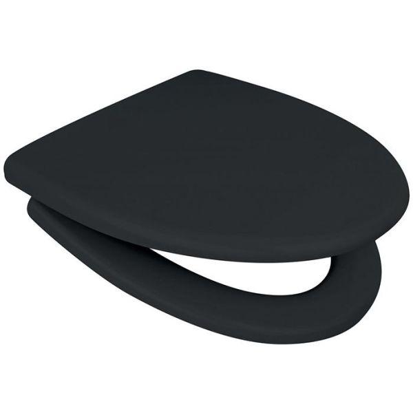 Arrow Onyx Cera-Sign WC-sete svart, softclose