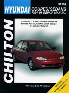 Haynes Reparationshandbok, Hyundai Coupes/Sedans, Universal