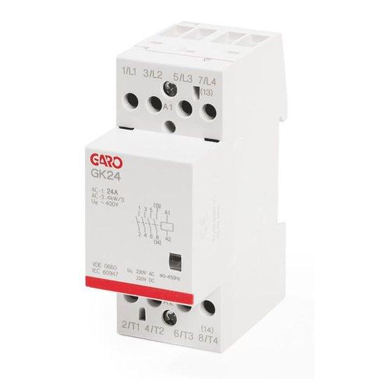 Garo GK24 4NO 230V ACDC Kontaktori 4-napainen, 25 A 4 sulkeutuvaa