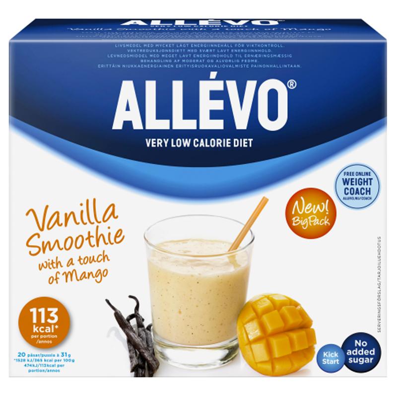 "Ateriankorvike-smoothie ""Vanilla"" 20 x 31g - 60% alennus"