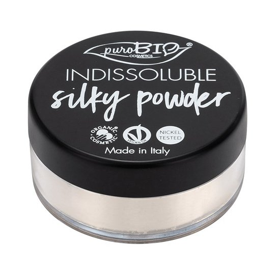 puroBIO Cosmetics Indissoluble Silky Powder, 8 g