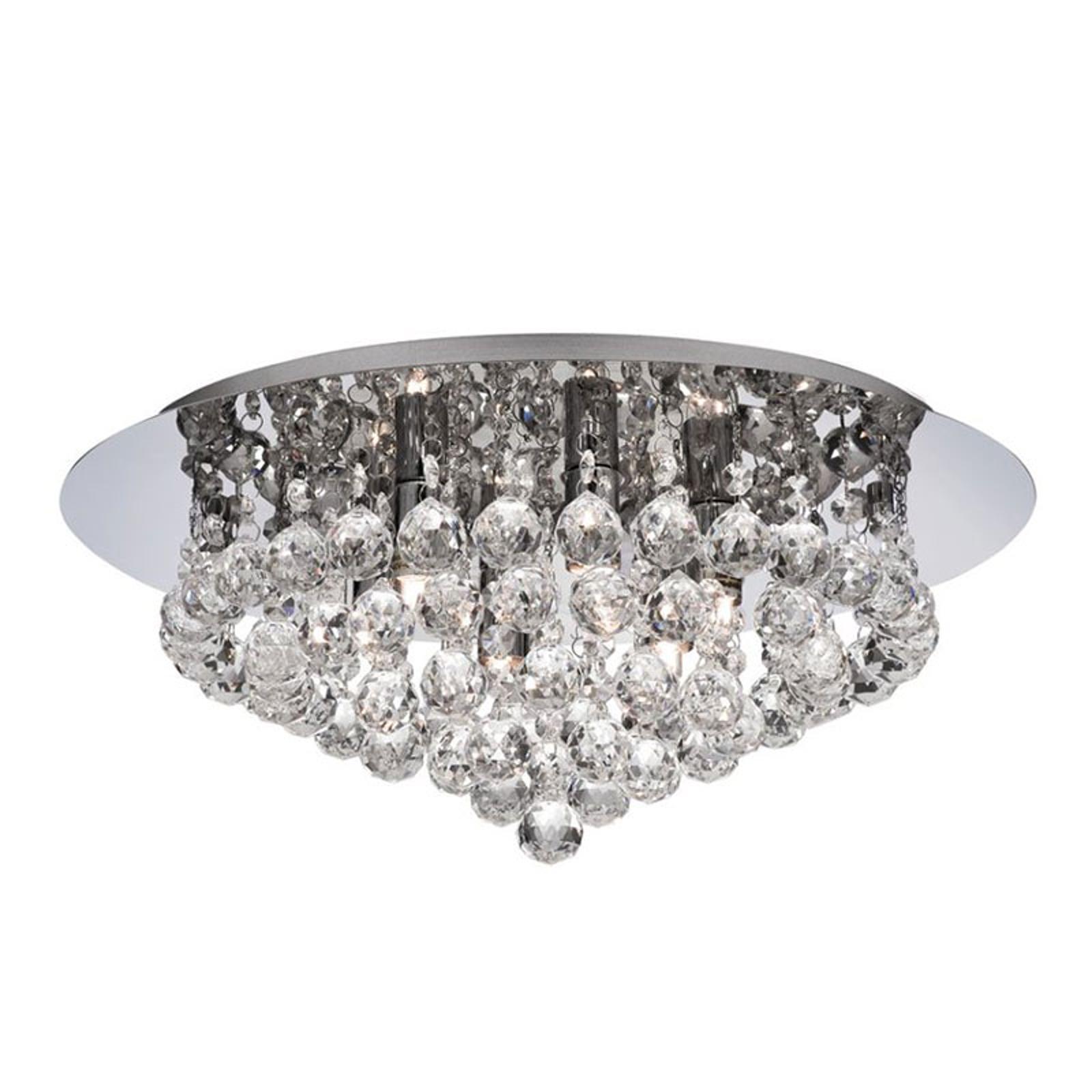 Kattovalaisin Hanna kromi, kristallipallot, 45 cm