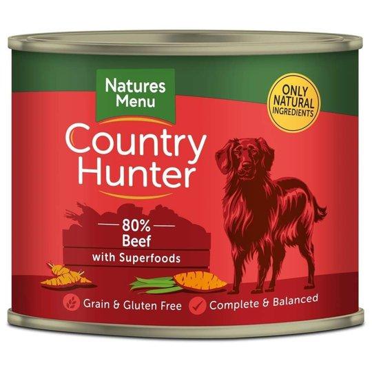 NaturesMenu Country Hunter Dog Biff 600g