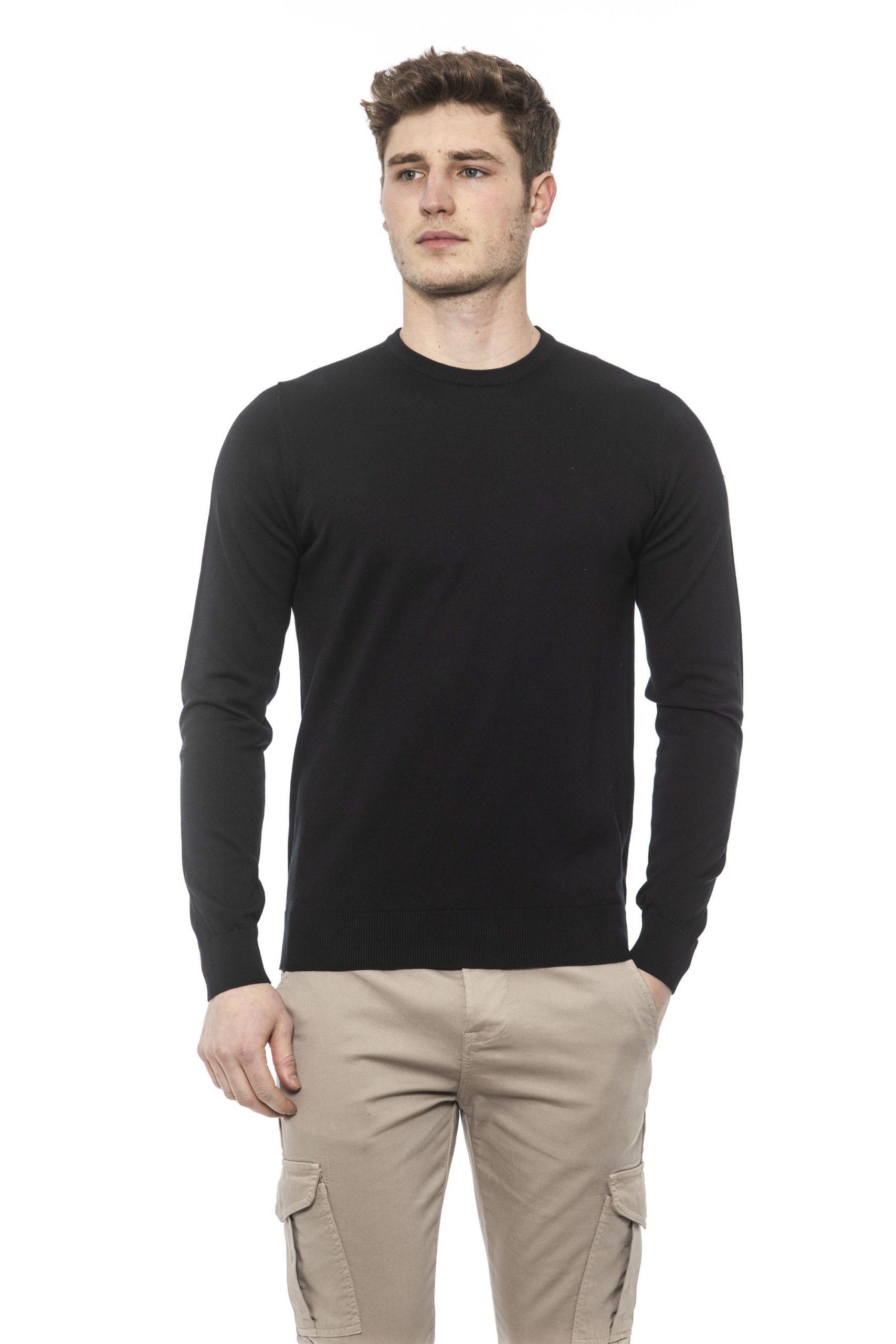 Alpha Studio Men's Nero Sweater Black AL1374575 - IT50 | L