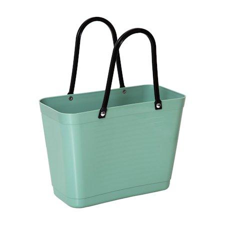 Veske Liten Green Plastic Olivengrønn