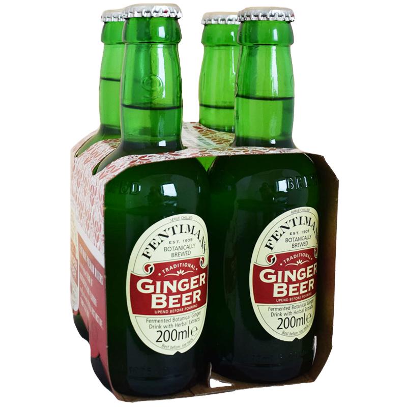 """Dryck """"Ginger Beer"""" 4 x 200ml - 50% rabatt"""