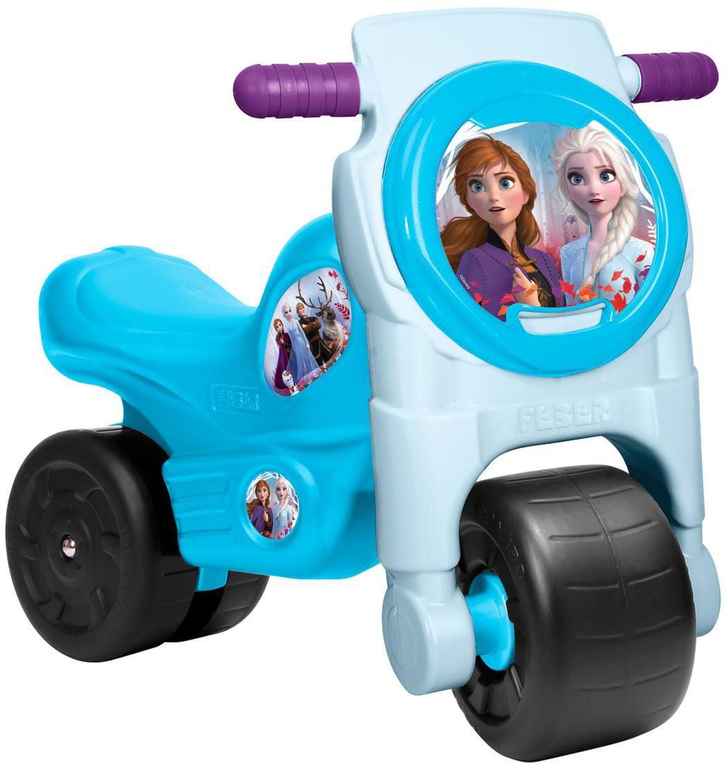 Disney Frozen 2 Gåmotorcykel, Blå