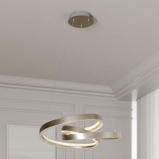 Lucande Gunbritt -LED-riippuvalaisin, 60 cm