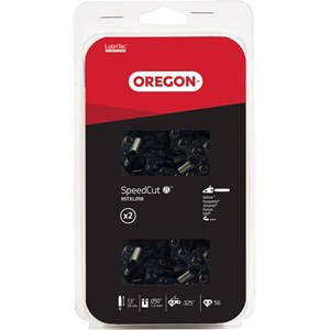 """Motorsågskedja Oregon 13"""" .325 1,3 mm 56, 2-pack."""