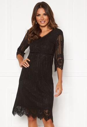 Happy Holly Jenna lace dress Black 36