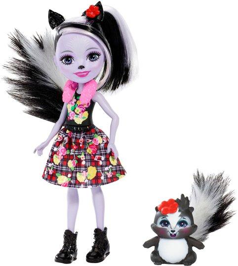 Enchantimals Sage Skunk and Caper Figur