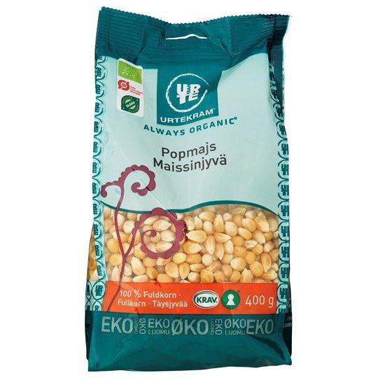Urtekram Food Popcorn Majskorn, 400 g