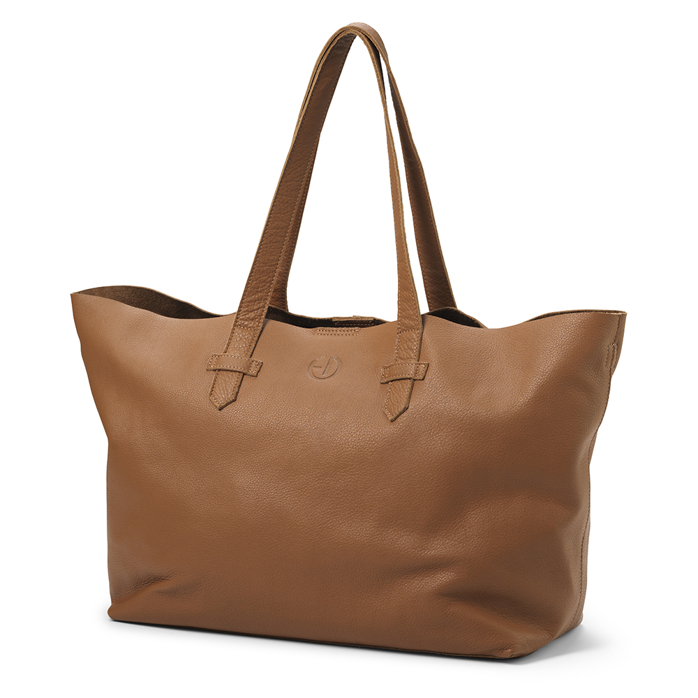 Changing Bag - Chestnut Leather