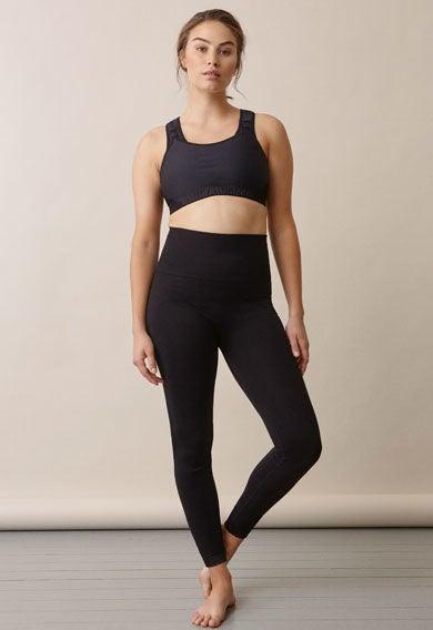 Soft Support Leggings, Black S/M