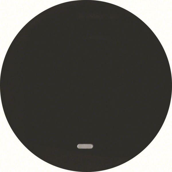 Hager 16212045 Vipu malleihin R.1 ja R.3 Yksiosainen vipu, musta, ilman painatusta
