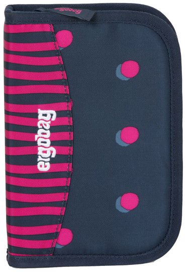 Ergobag Hard Pennal Shoobi DooBear, Blue Purple Dots