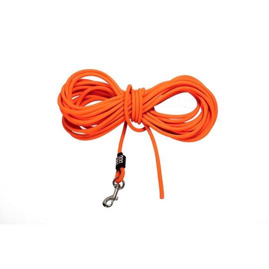 Pro Dog PVC Träningslina Orange (6 mm x 10 m )