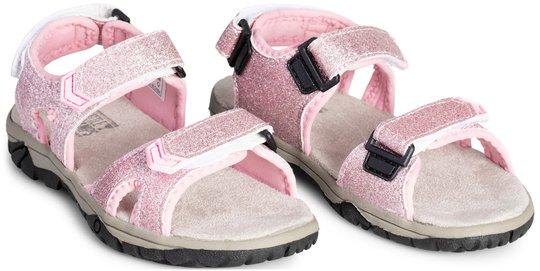 Little Champs Race Glitter Sandaler, Pink 22