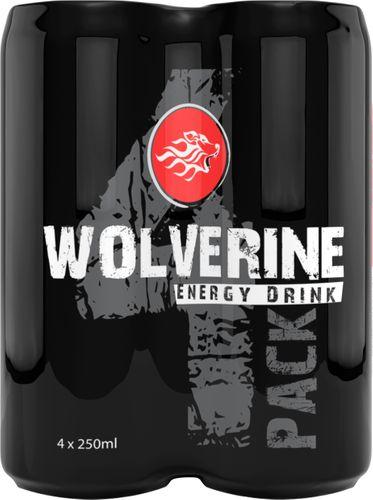 Wolverine Energy Drink 25cl 4-pack