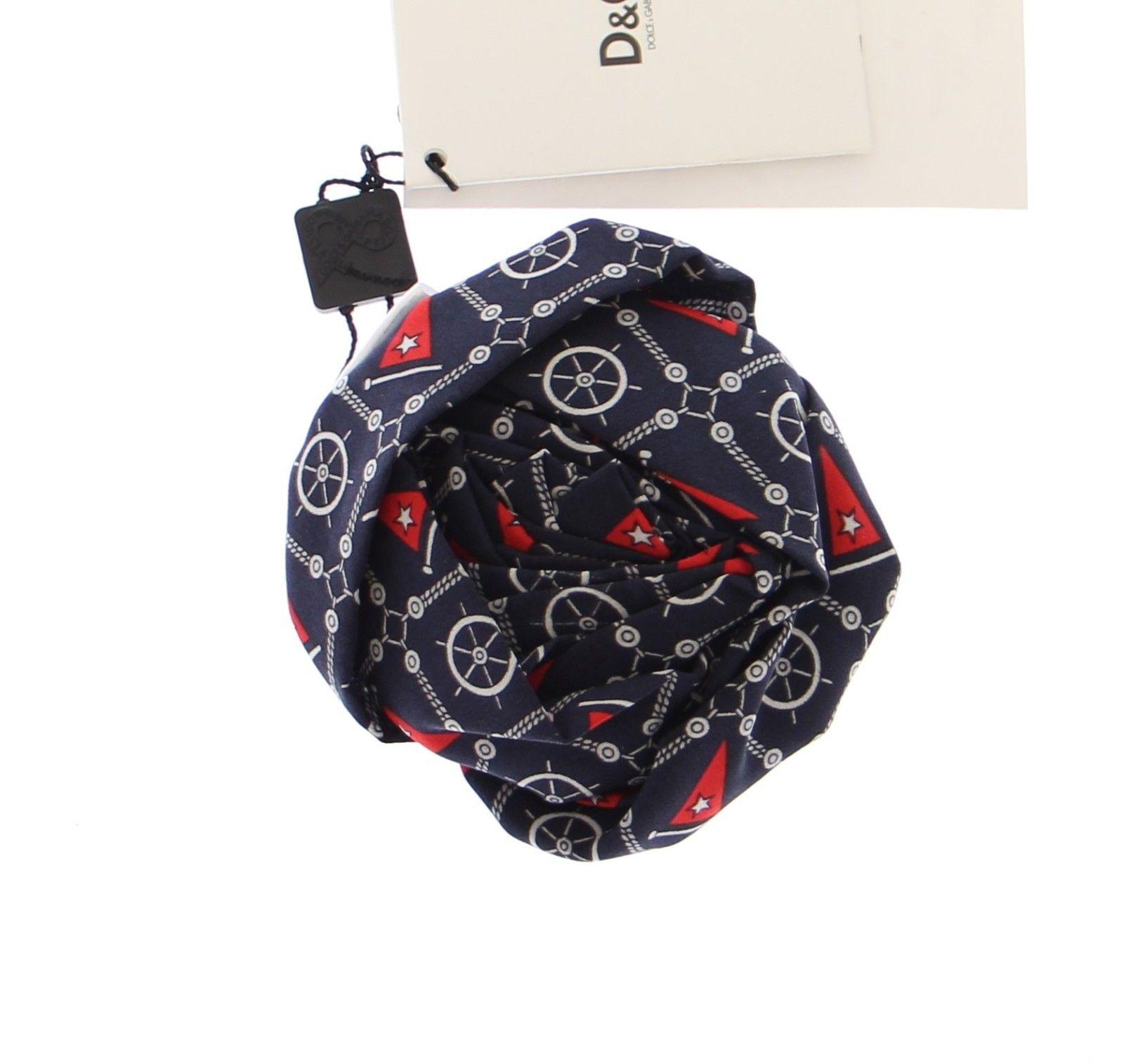 Dolce & Gabbana Women's Marine Rose Silk Brooch Blue DDB10011
