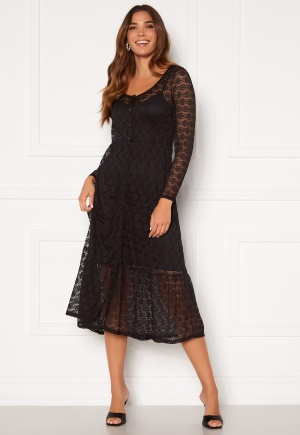 Happy Holly Evelina lace dress Black 32/34