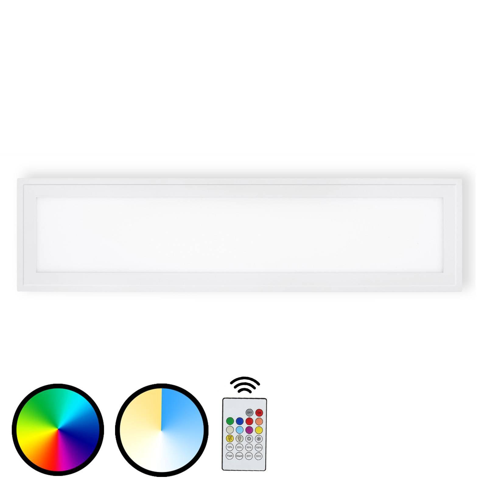 LED-taklampe 3033-016 Piatto med fjernkontroll