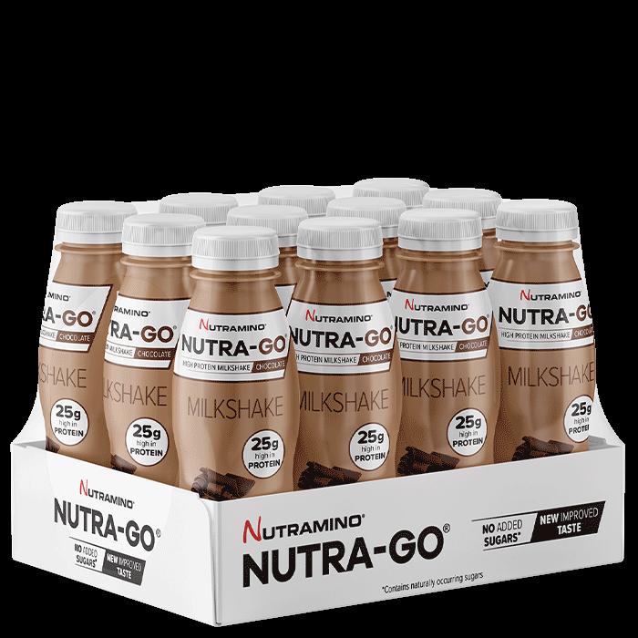 12 x Nutra Go Milkshake, 330 ml