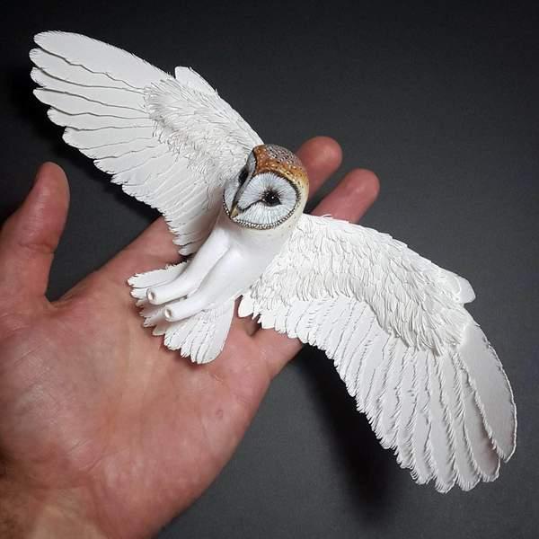 Paper & Wood Bird Making