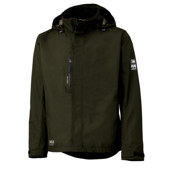 Helly Hansen Workwear Haag Fleecejacka grön, vattentät XS