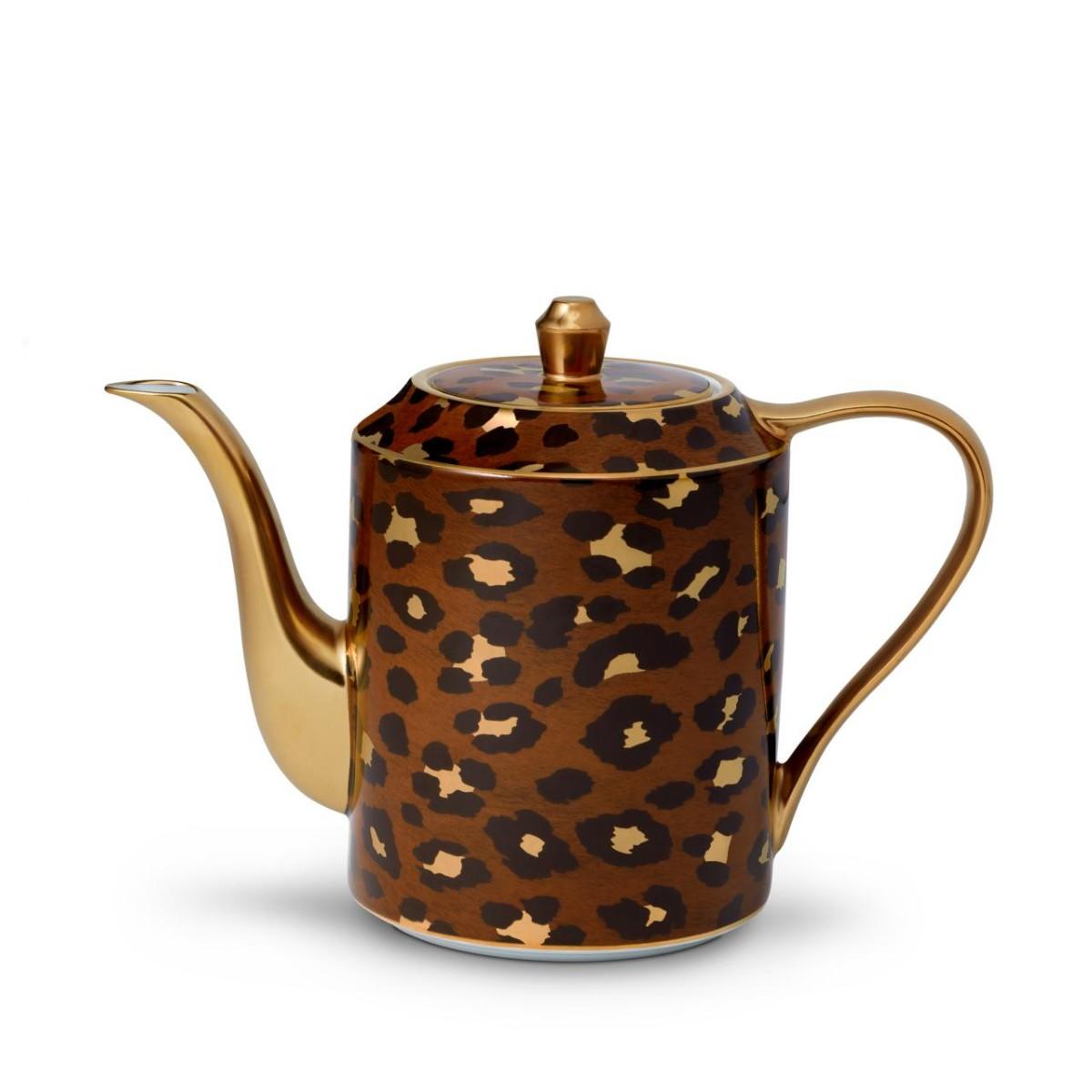 L'Objet I Leopard Teapot