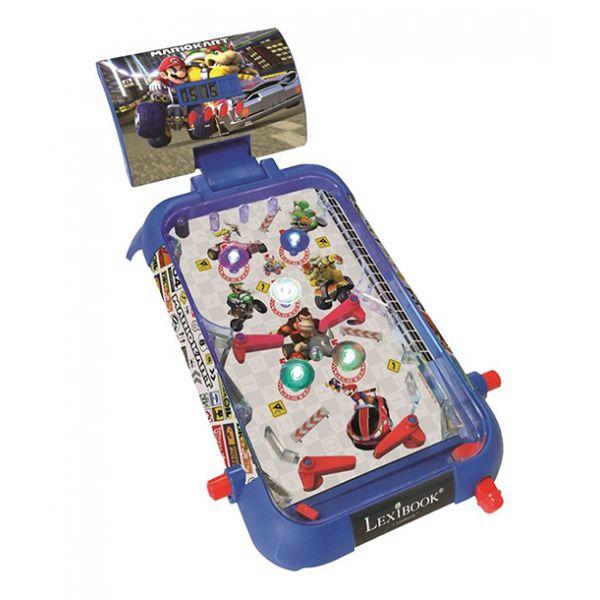 Lexibook - Mario Kart electronic pinball with lights and sounds (JG610NI)