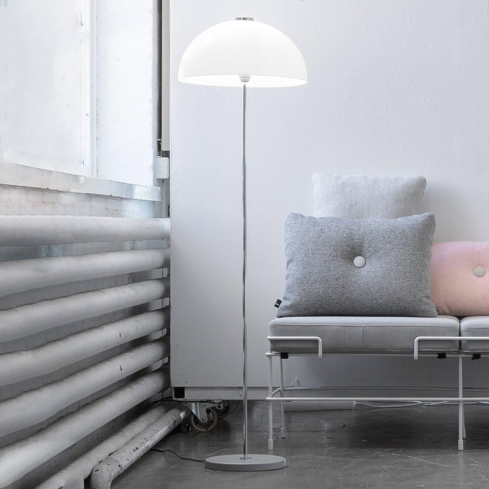 Innolux Kupoli gulvlampe, grå fot