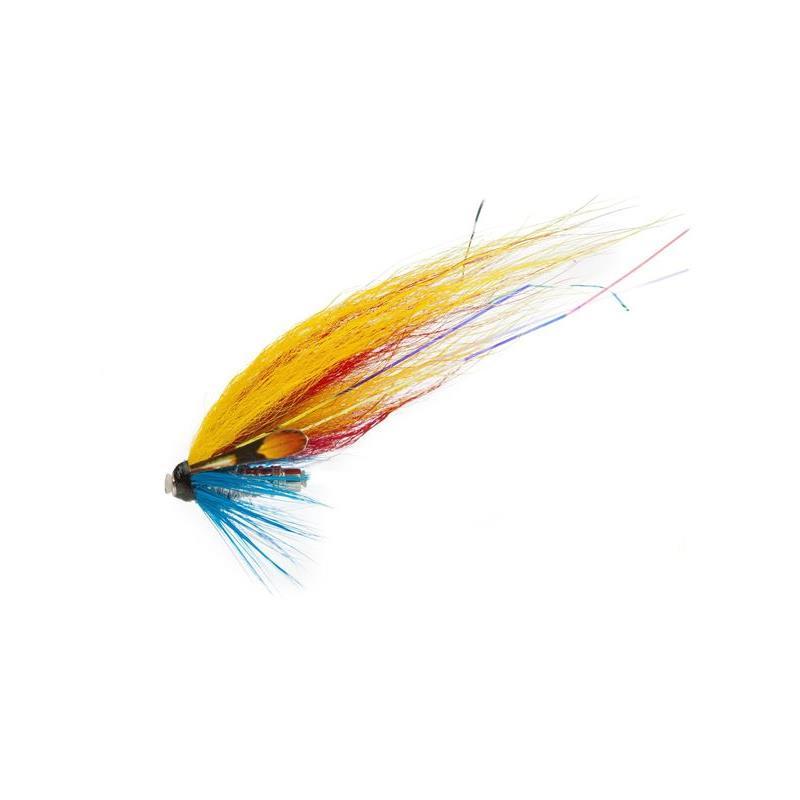 Gary Silver Yellow/Red/Silver str. M Kjøp 12 fluer få gratis flueboks