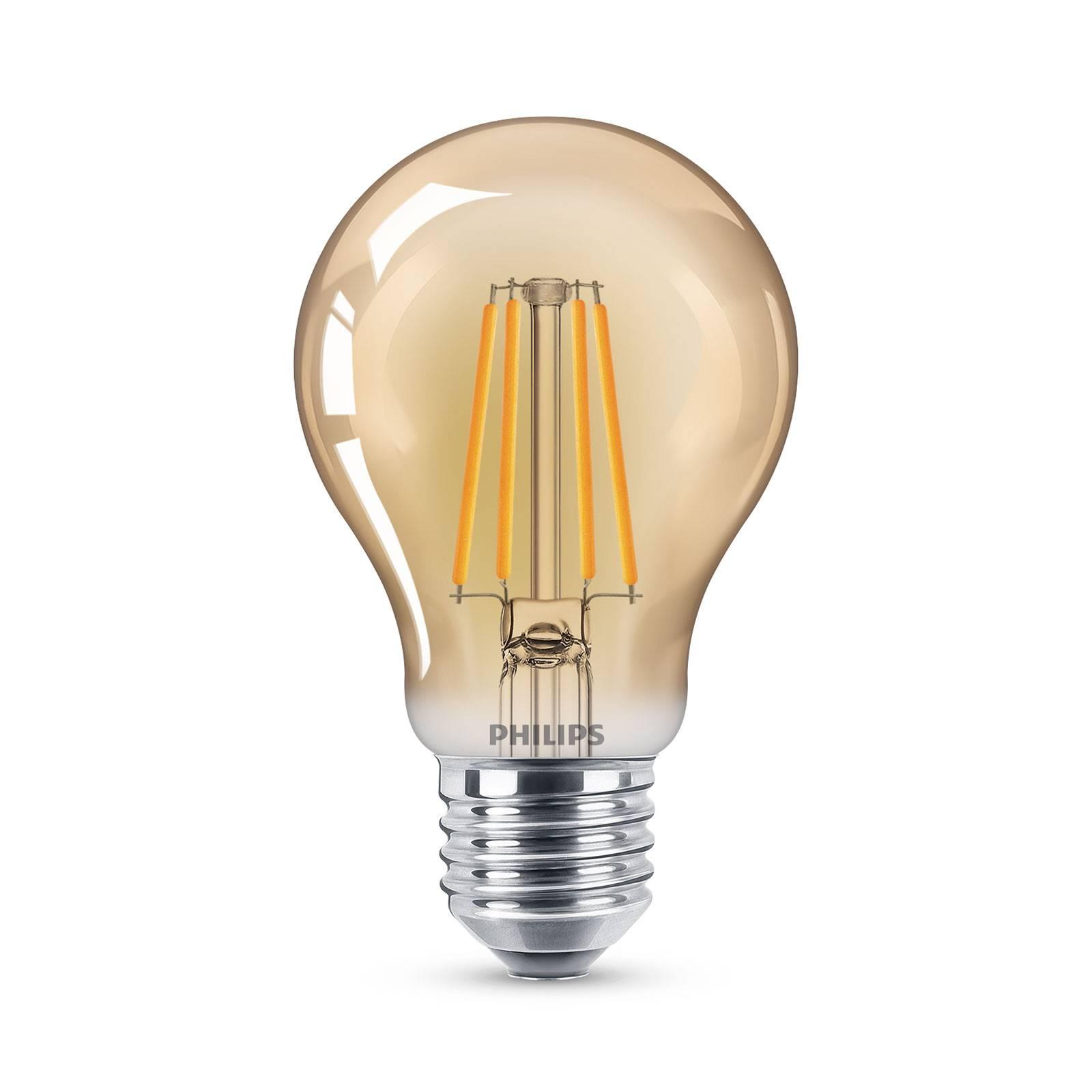 Philips-LED-lamppu Filament E27 A60 4W 2 500 K