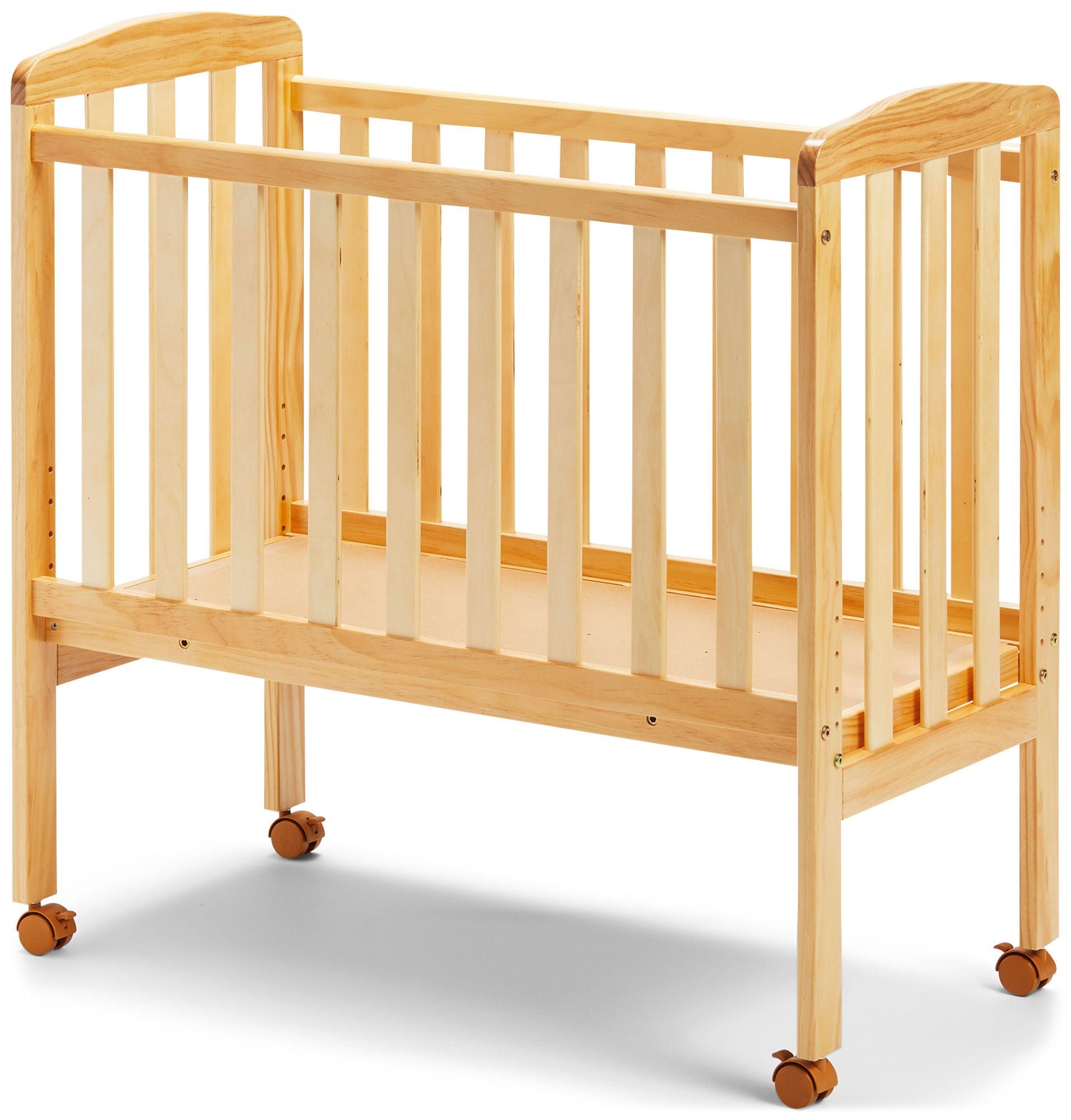JLY Dream Bedside Crib, Natural