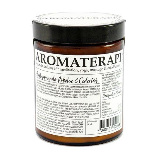 Klinta Doftljus Aromaterapi - Rökelse & Cederträ
